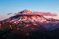 Ranier at Sunset From Tolmie Peak2